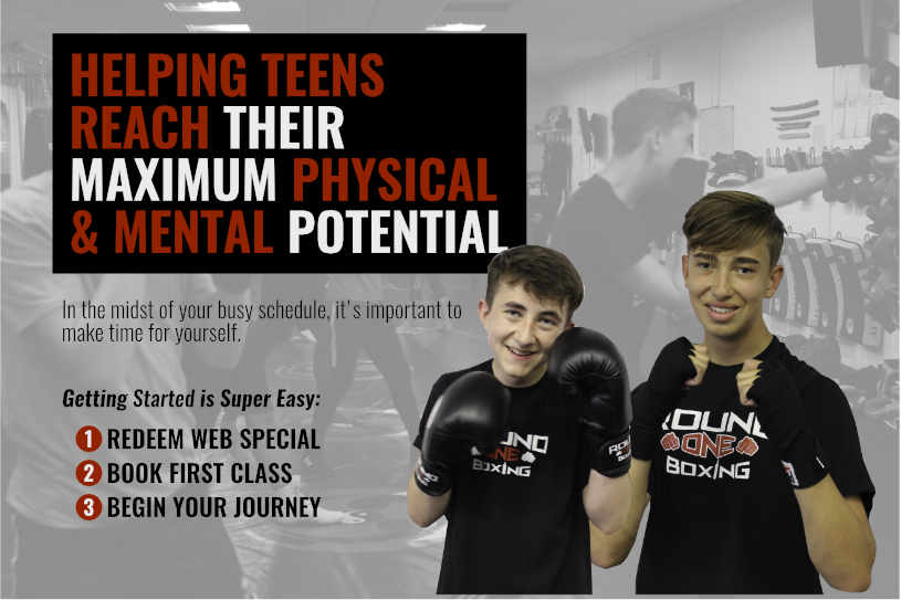 TEENS BOXING IN CHELMSFORD