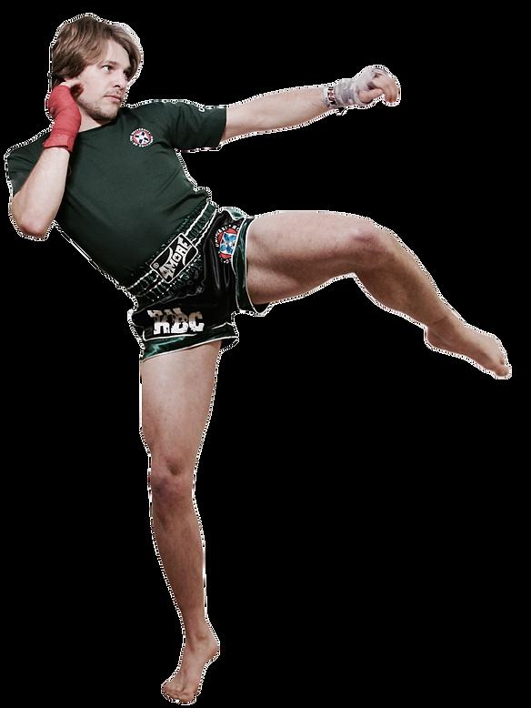 Round Kickboxing kick